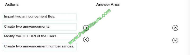 Pass4itsure Microsoft 70-333 exam questions q11